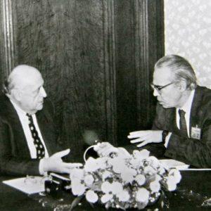 """Интервю с президента на Турция Сюлейман Демирел за """"Наблюдател"""", 1994"""