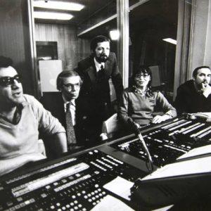 """В апаратната при студиото на """"Всяка неделя"""", 1983 г."""