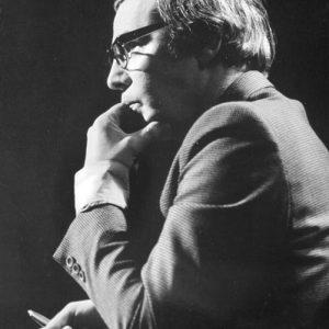 """В студиото на """"Всяка неделя"""", 20 септември 1981 г., снимка: Румяна Бояджиева"""